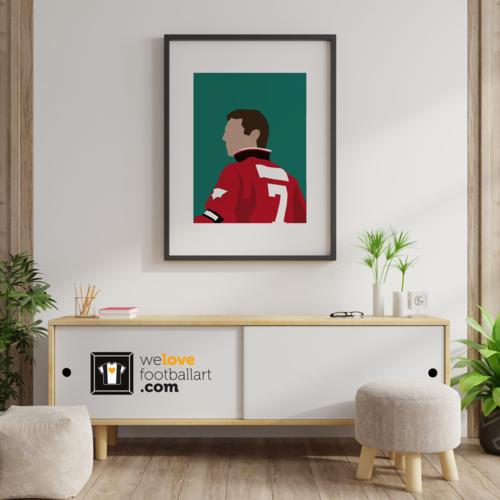 "We Love Football Art ""The King"" We Love Football Art"