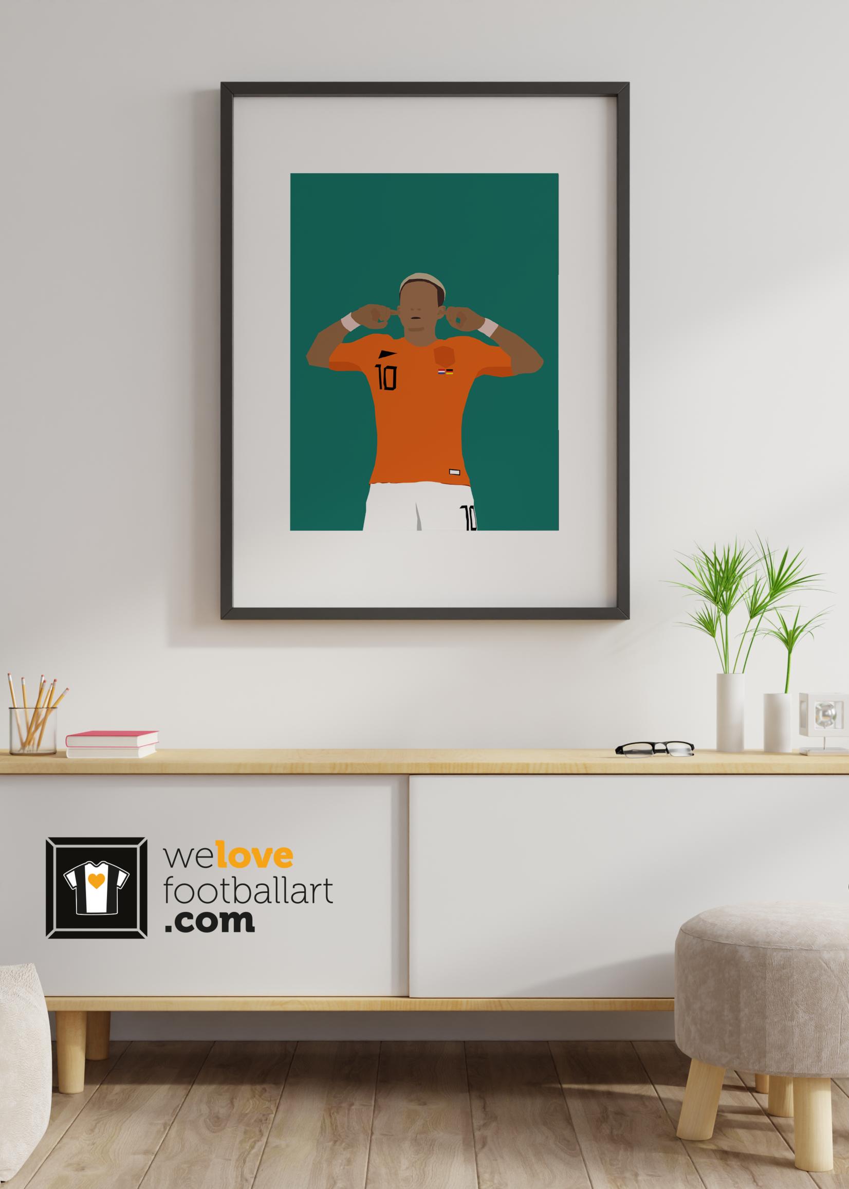 "We Love Football Art ""Dromen, geloven, bereiken"" We Love Football Art"
