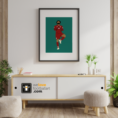 "We Love Football Art ""Egyptian King"" We Love Football Art"