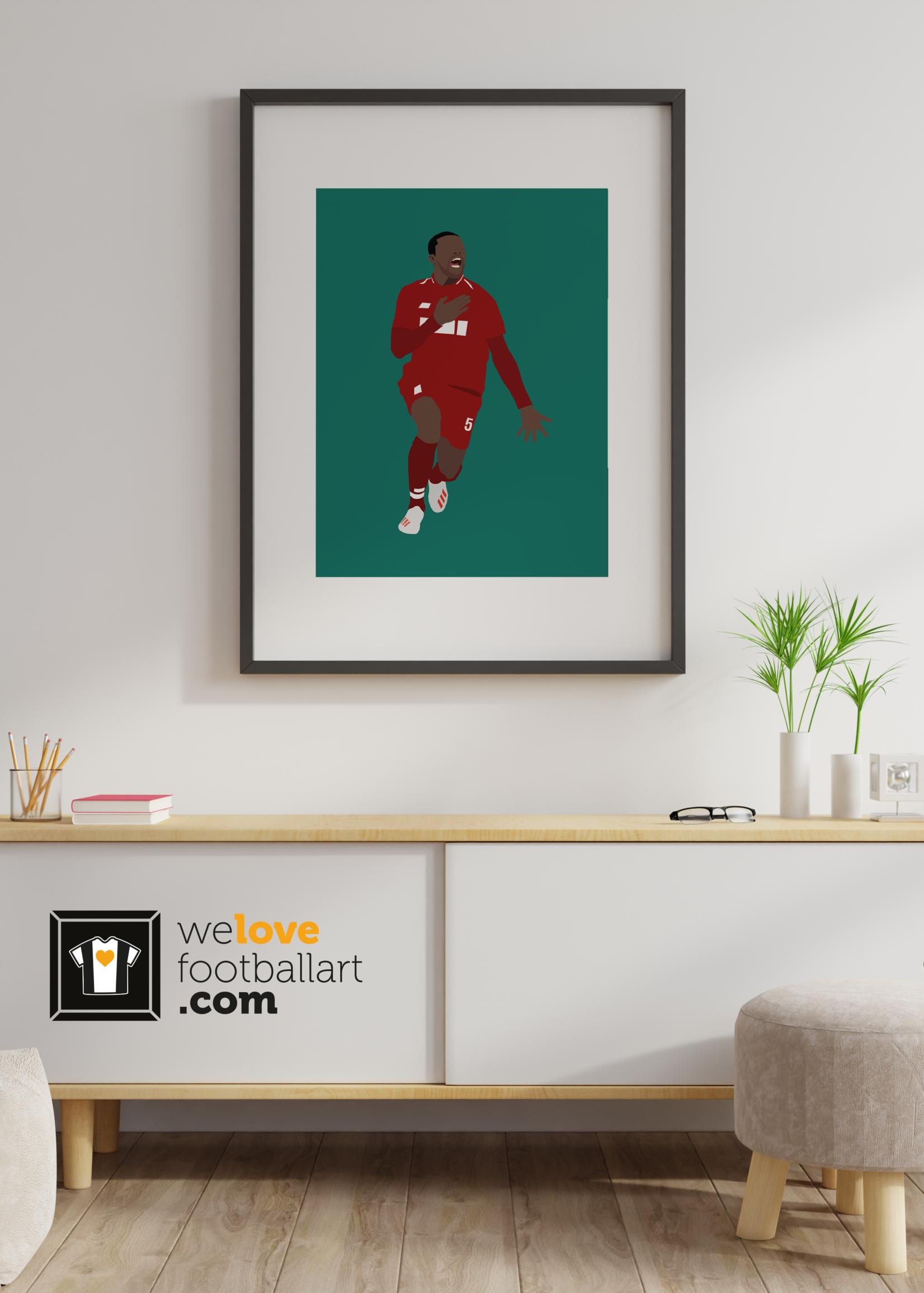 "We Love Football Art ""Gini"" We Love Football Art"