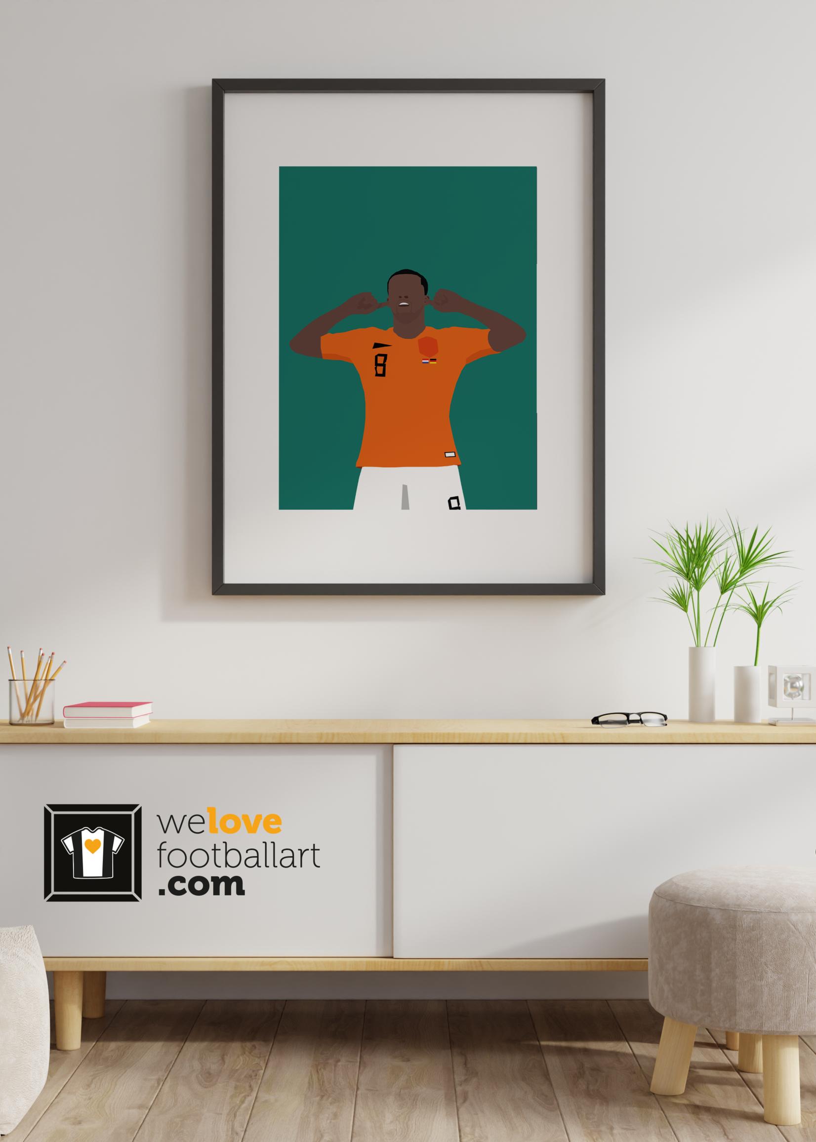 "We Love Football Art ""Stilte"" We Love Football Art"