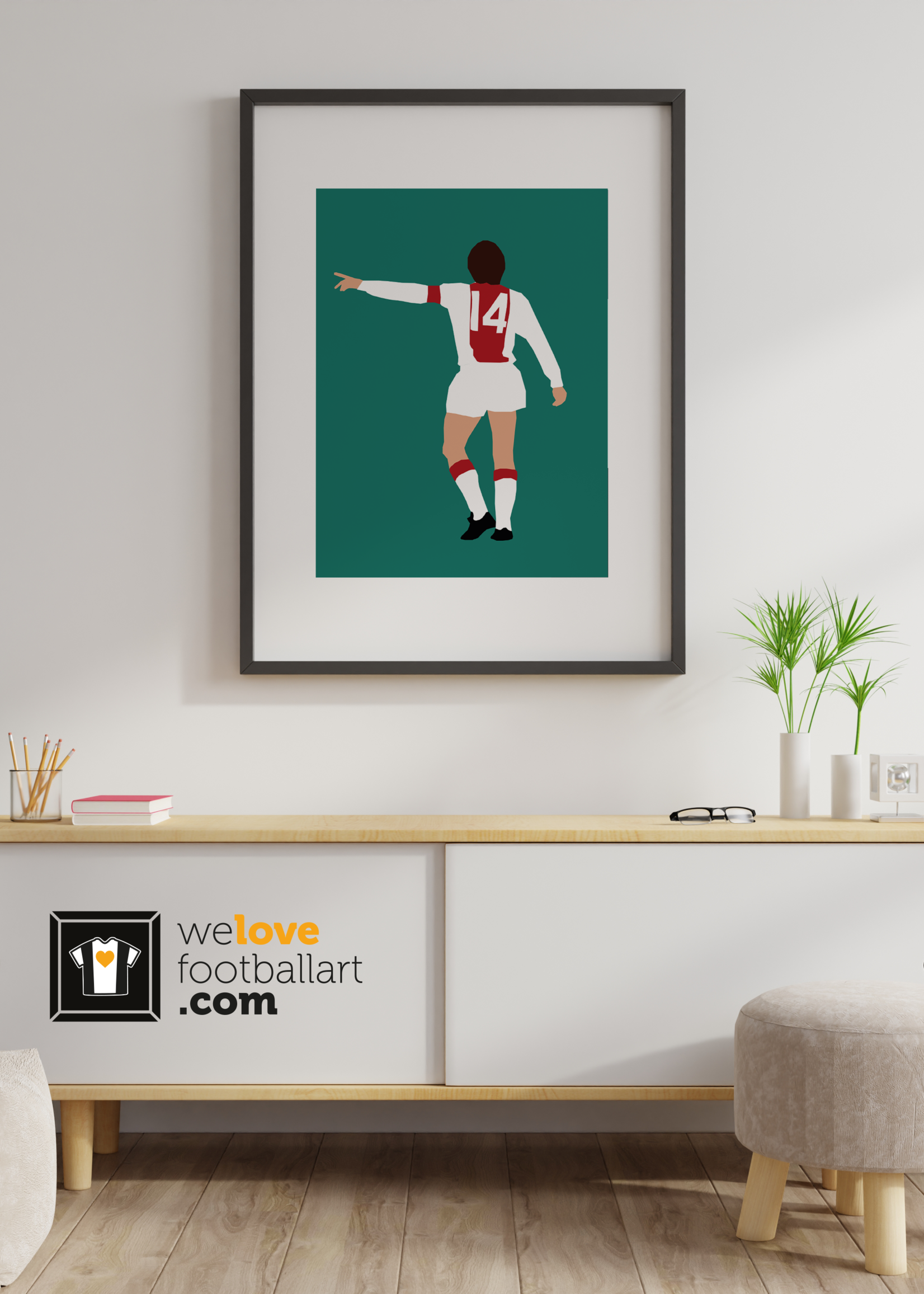 "We Love Football Art ""Das orakel"" We Love Football Art"