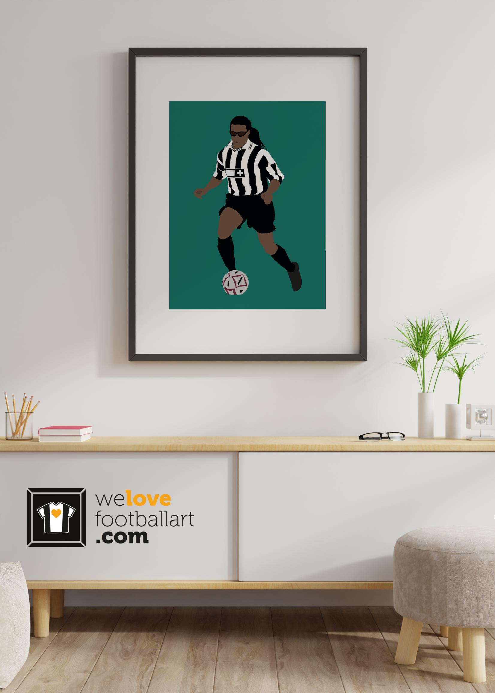 "We Love Football Art ""The Pitbull"" We Love Football Art"
