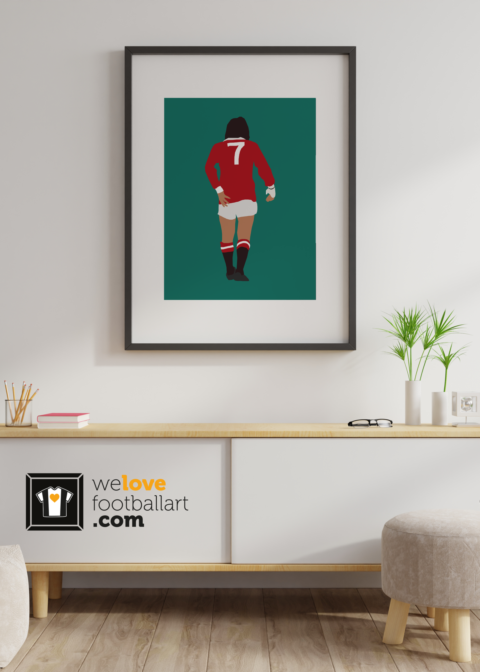 "We Love Football Art ""Der funfte Beatle"" We Love Football Art"