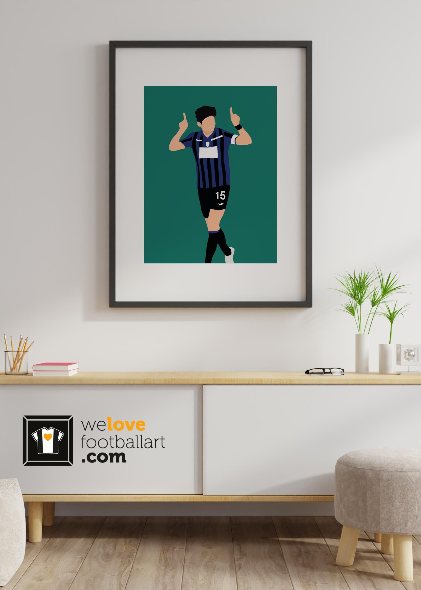"We Love Football Art ""Breakwater"" We Love Football Art"