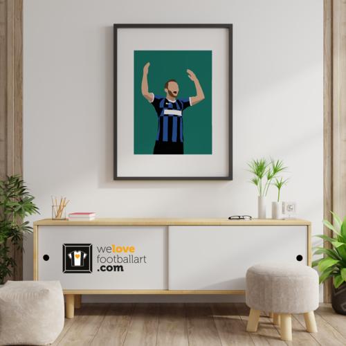"We Love Football Art ""Muro"" We Love Football Art"