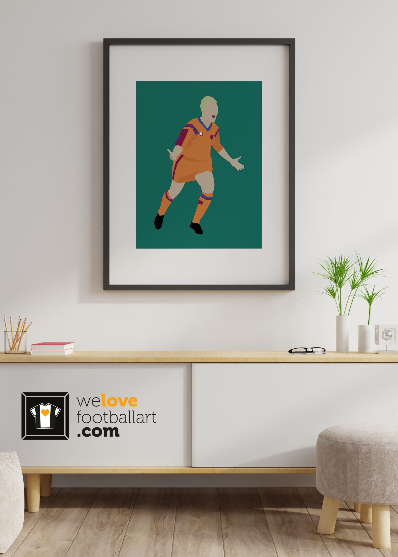 "We Love Football Art ""Snowflake"" We Love Football Art"