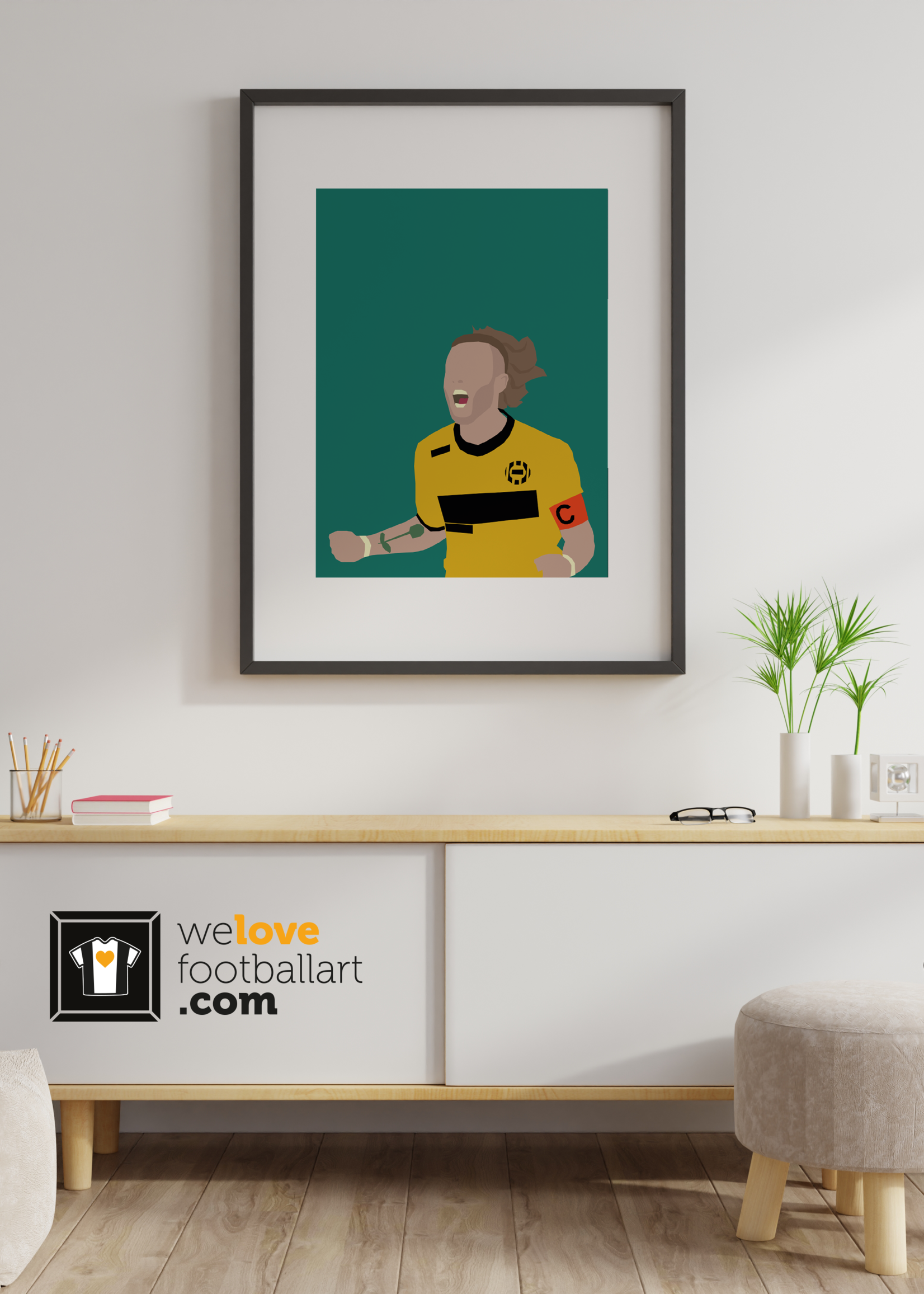 "We Love Football Art ""Boys what are we happy"" We Love Football Art"