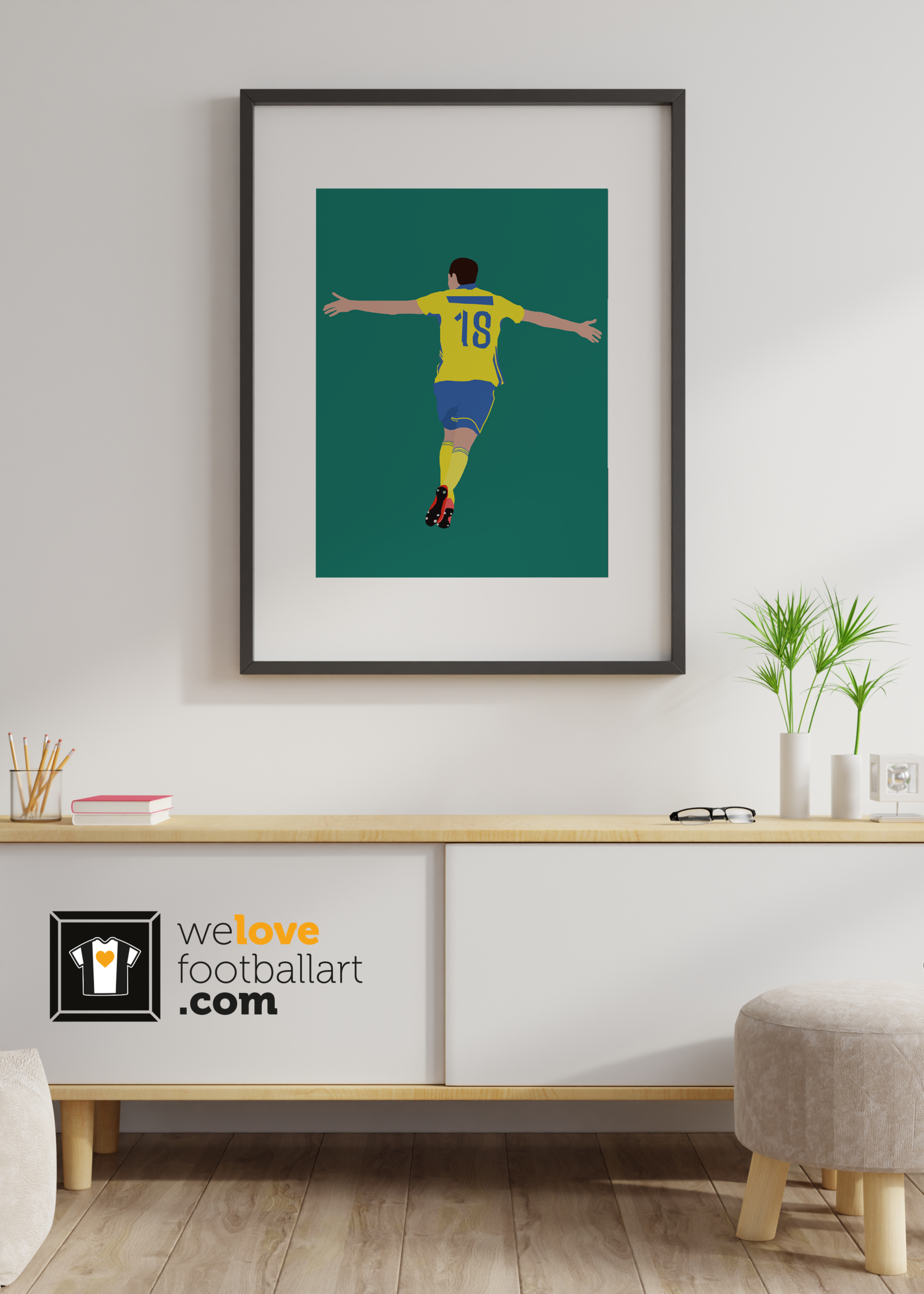 "We Love Football Art ""Matic"" We Love Football Art"