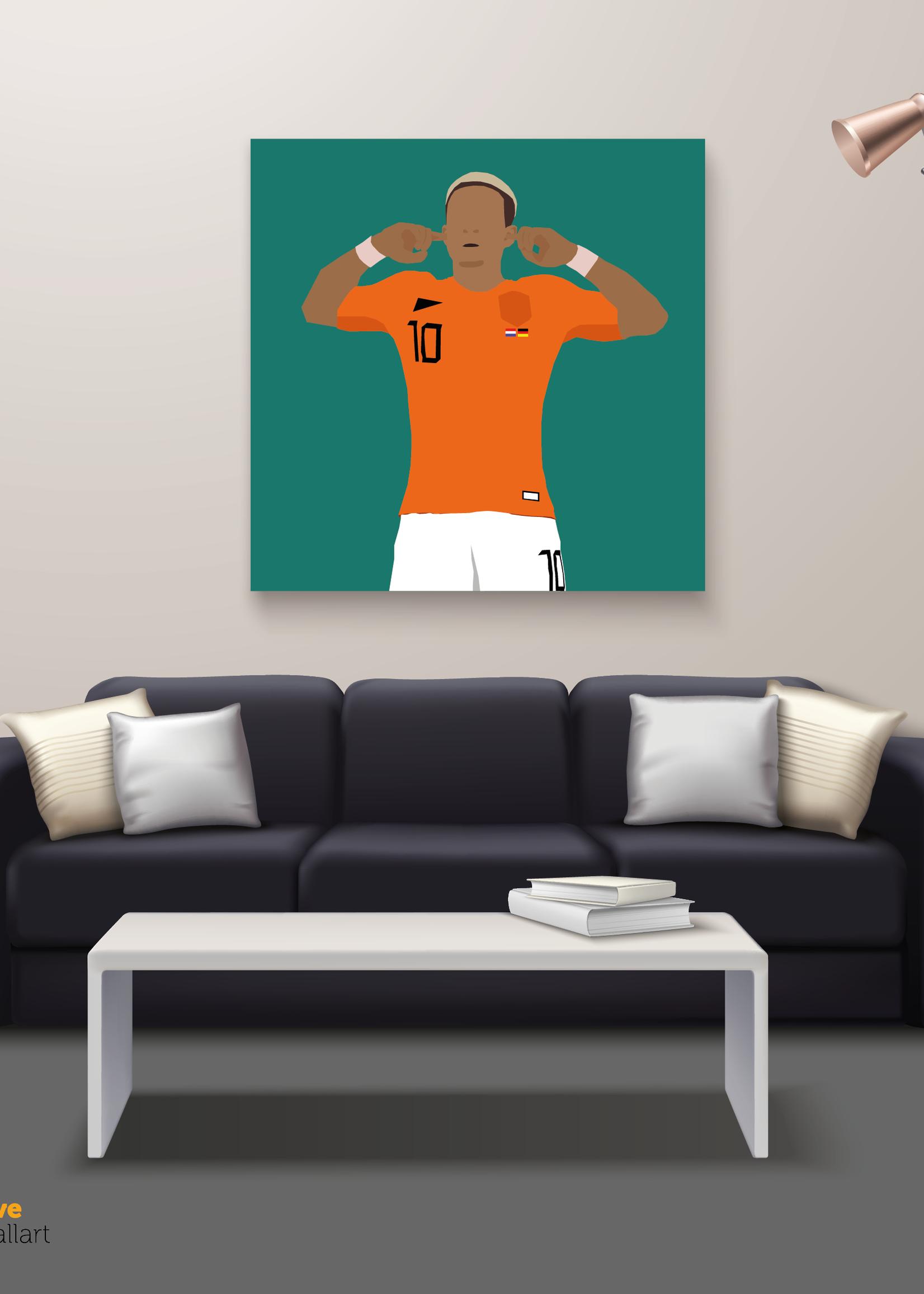 "We Love Football Art ""Dream, believe, archieve"" We Love Football Art"