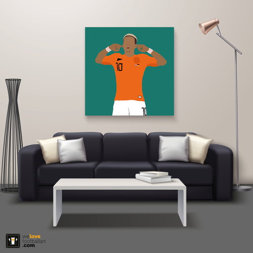 "We Love Football Art ""Dream, believe, archieve"" We Love Football Art"
