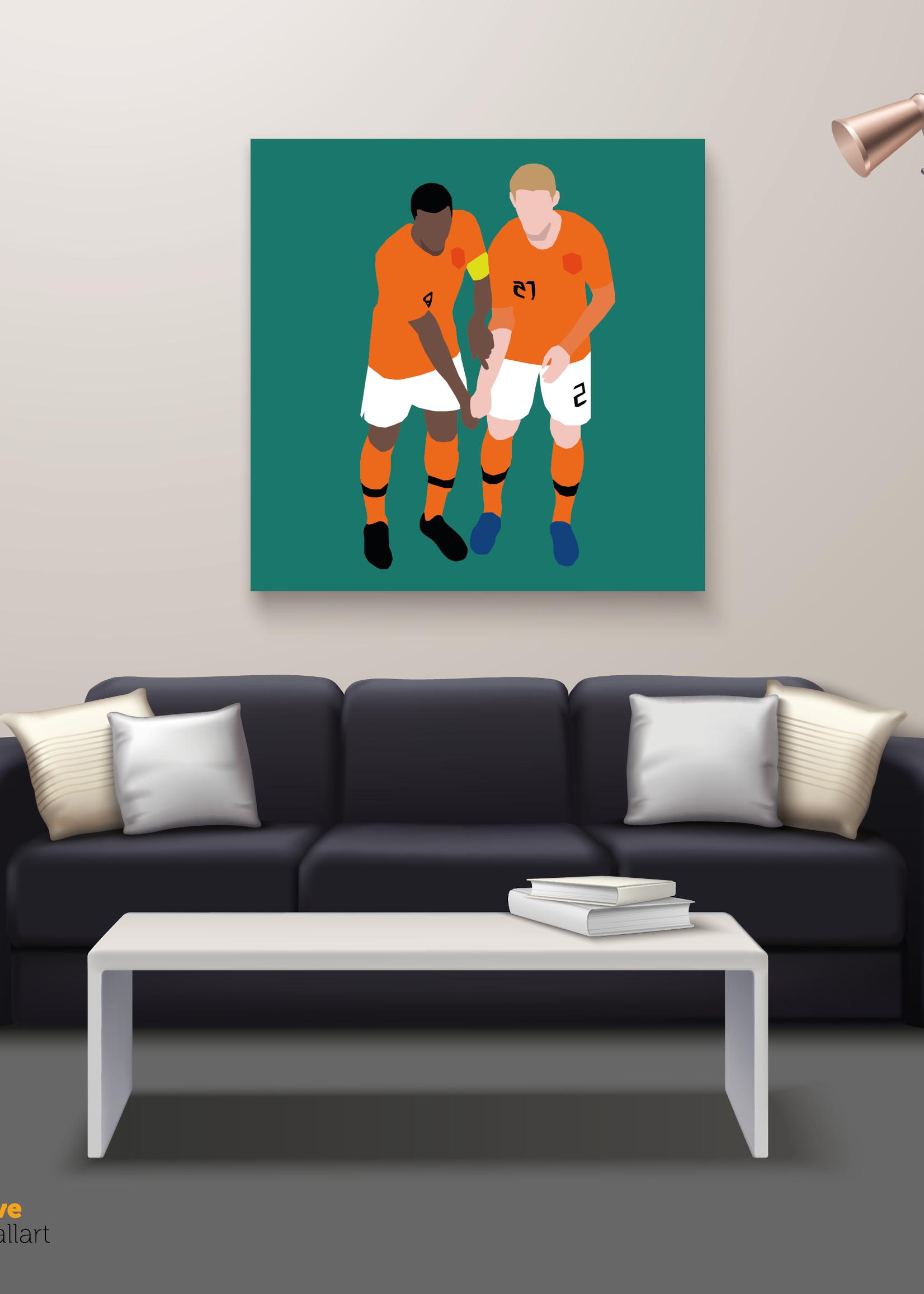 "We Love Football Art ""Black and white"" We Love Football Art"
