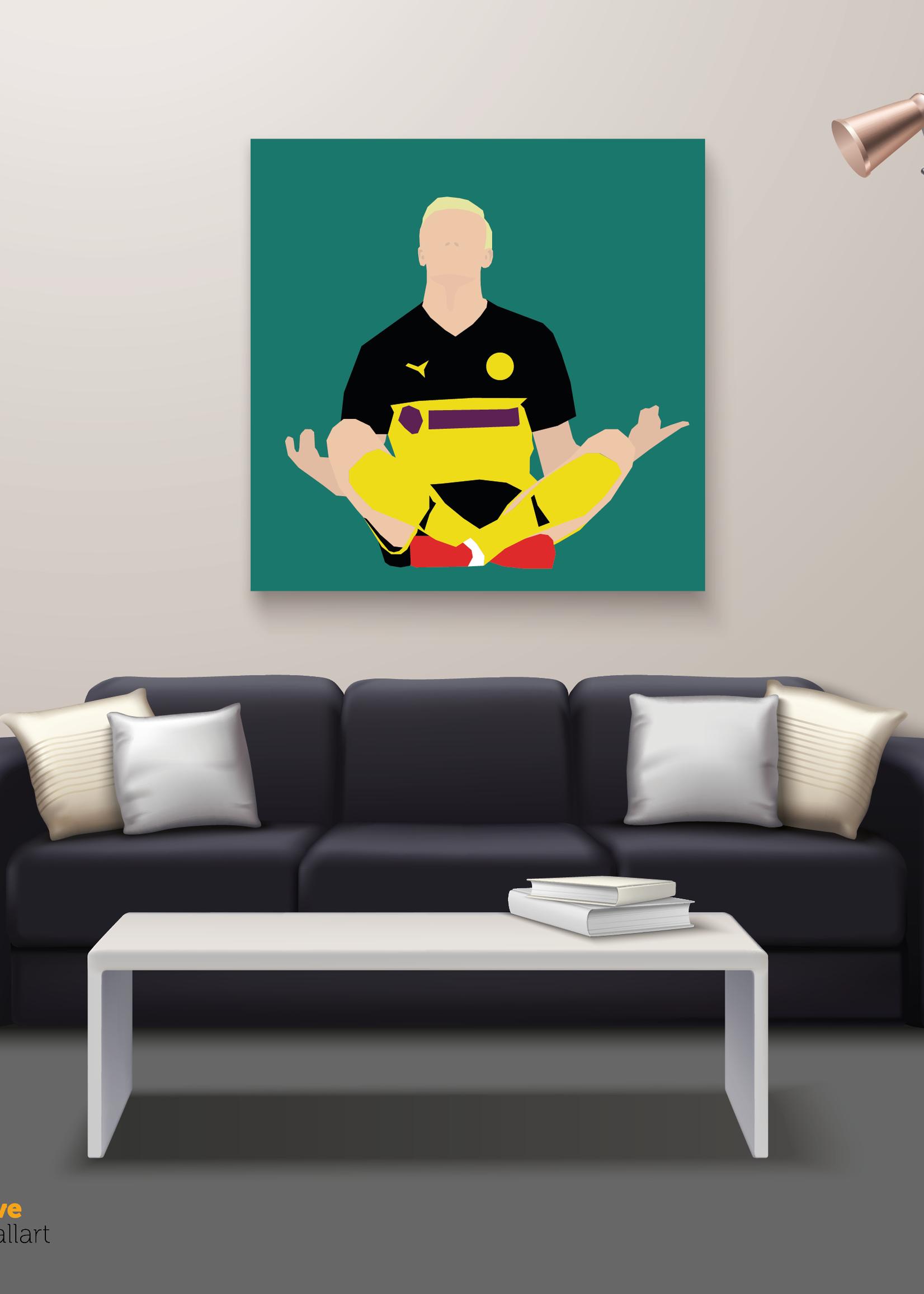 "We Love Football Art ""The Manchild"" We Love Football Art"
