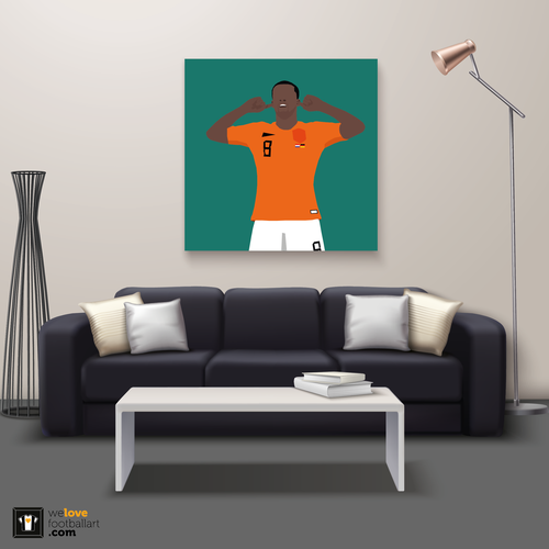 "We Love Football Art ""Stille"" We Love Football Art"