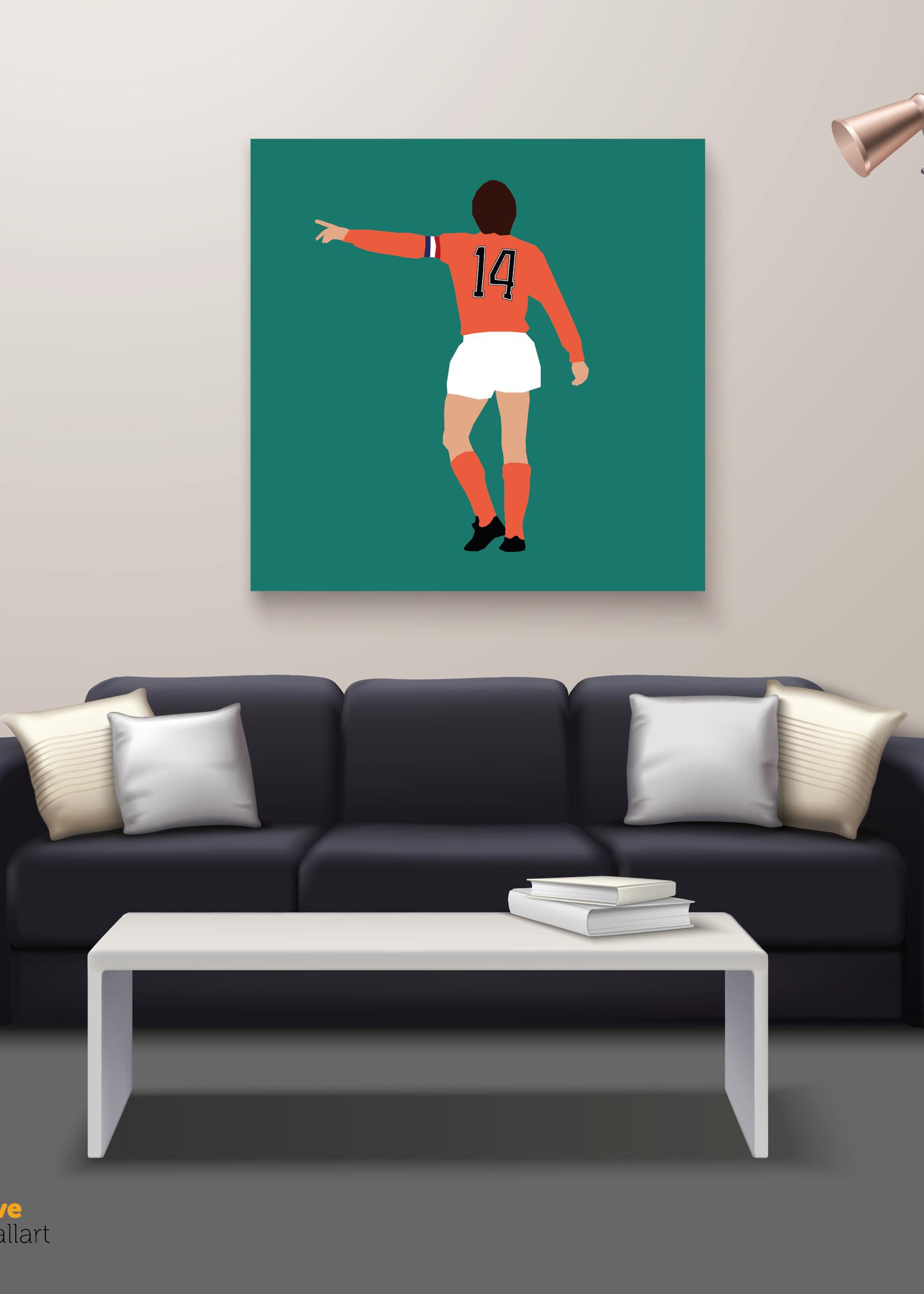 "We Love Football Art ""Nummer 14"" We Love Football Art"