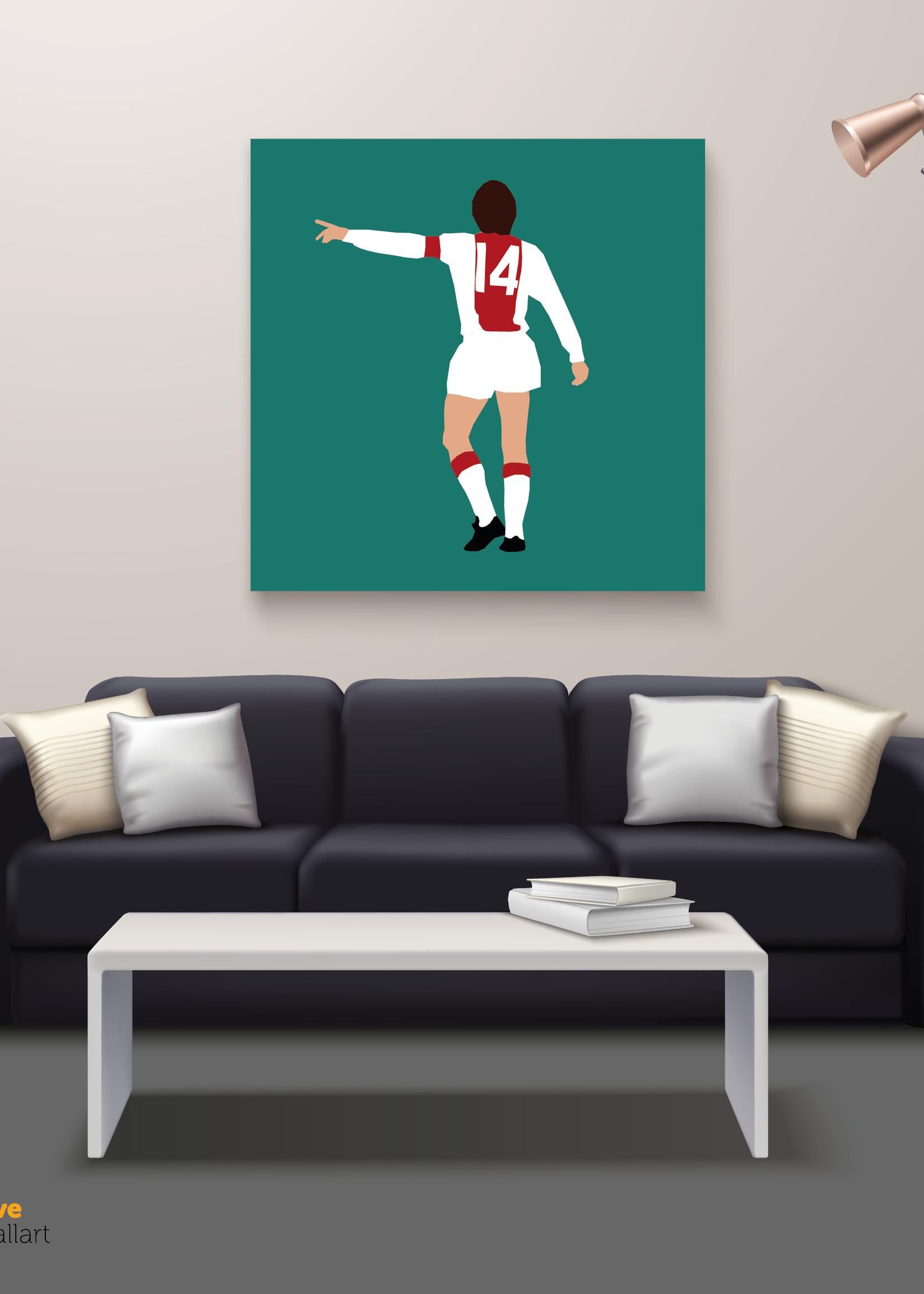 """We Love Football Art """"Het orakel"""" We Love Football Art"""