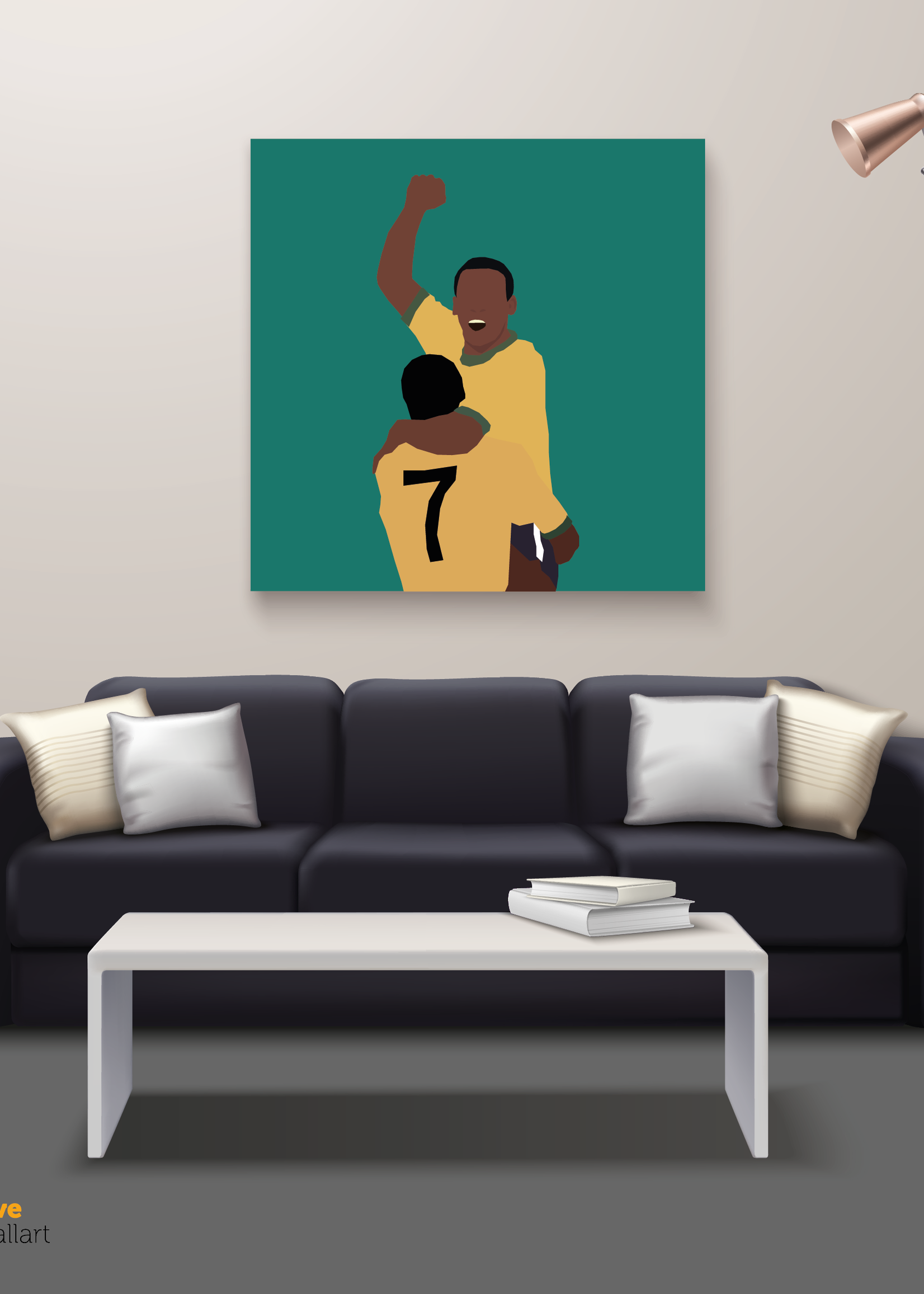 "We Love Football Art ""Perla Negra"" We Love Football Art"