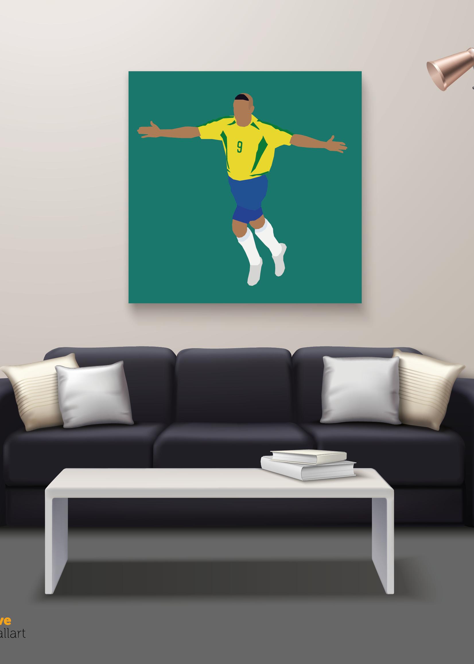 "We Love Football Art ""O Fenômeno"" We Love Football Art"