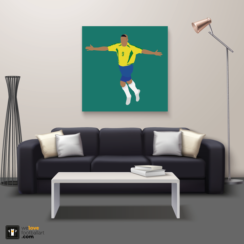 "We Love Football Art ""O Fenômeno"" We Love Football Art"