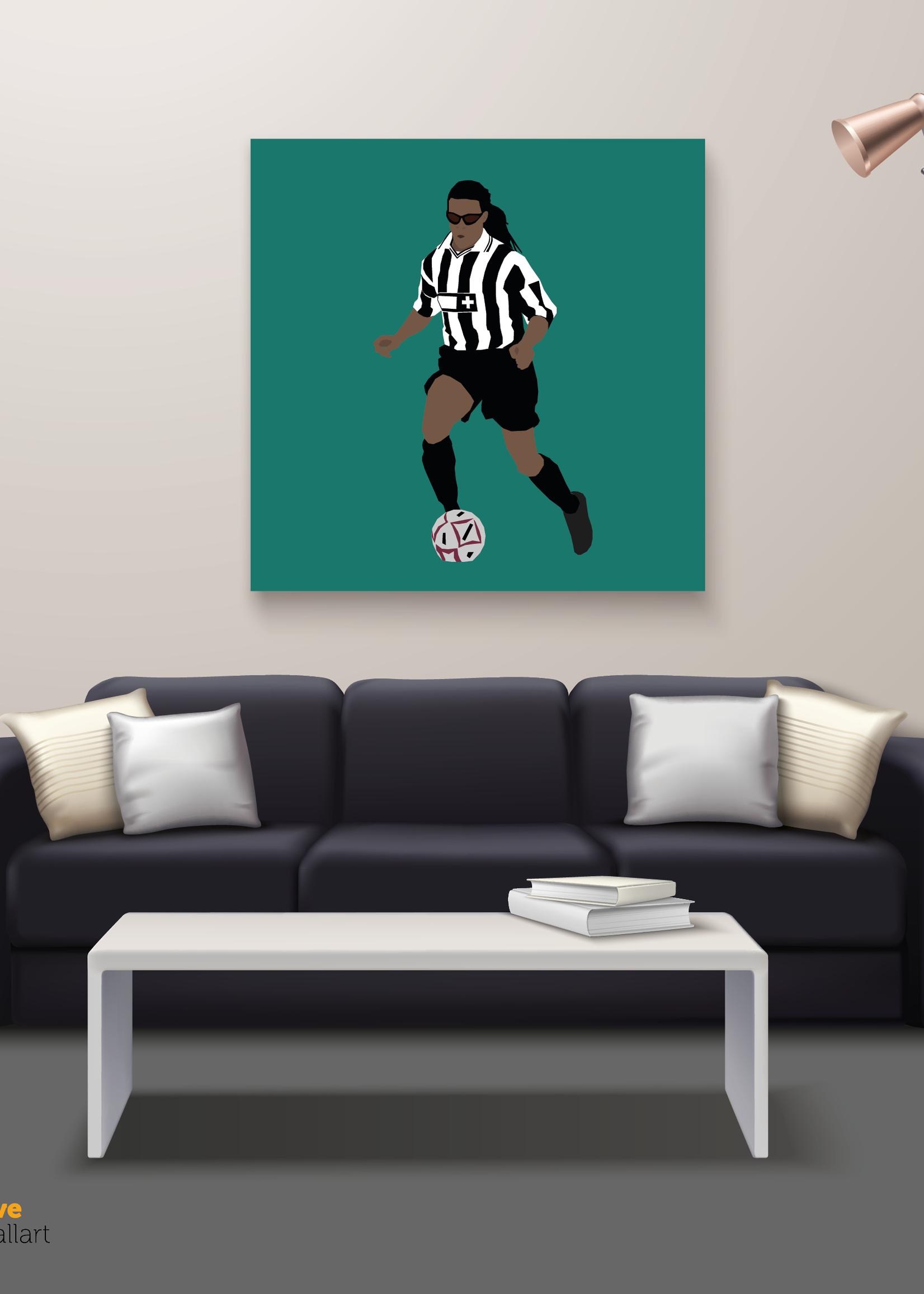 "We Love Football Art ""Der Pitbull"" We Love Football Art"