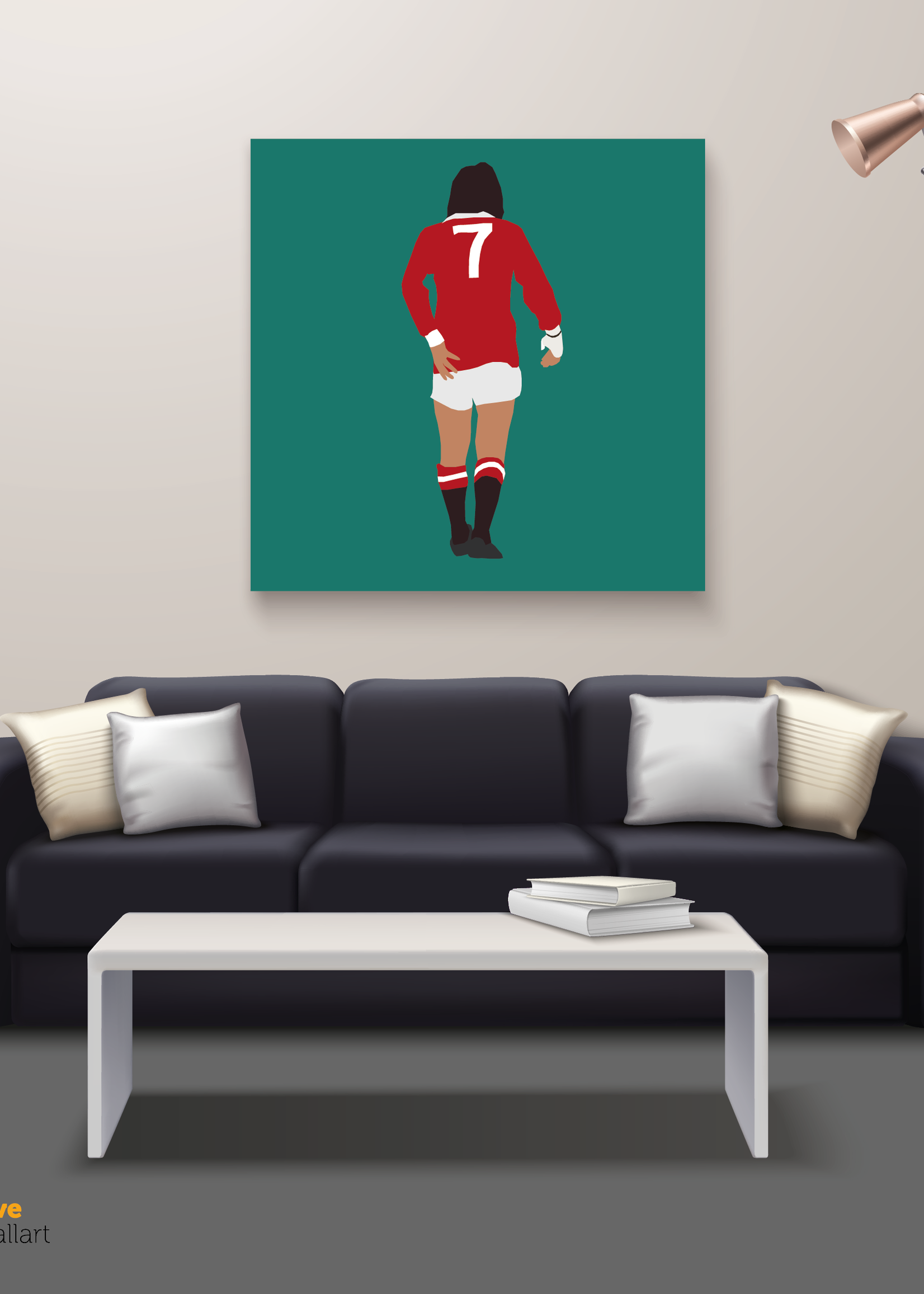 "We Love Football Art ""De vijfde Beatle"" We Love Football Art"