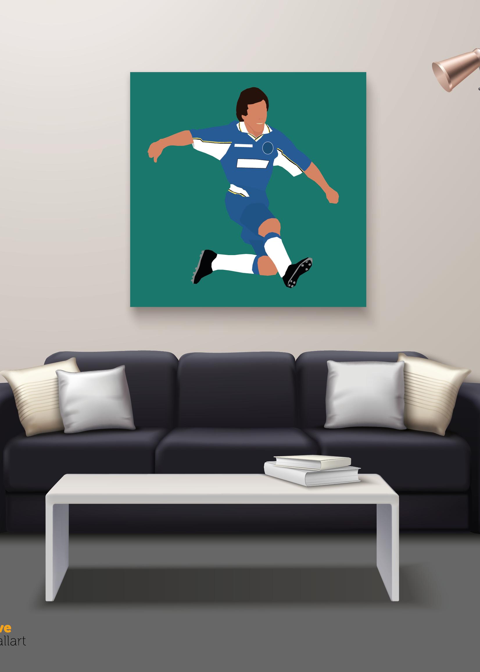 "We Love Football Art ""The Magic Box"" We Love Football Art"