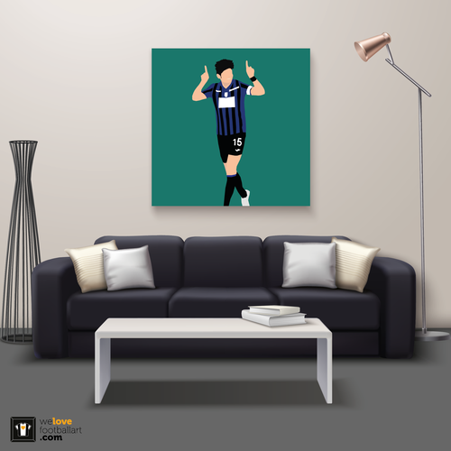 "We Love Football Art ""Golfbreker"" We Love Football Art"