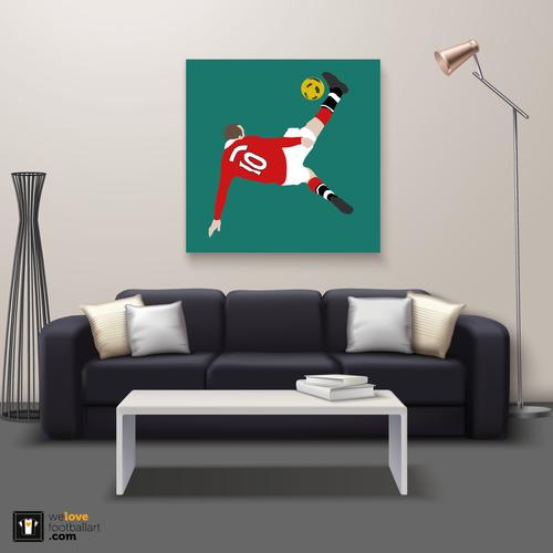 "We Love Football Art ""Bad Boy"" We Love Football Art"