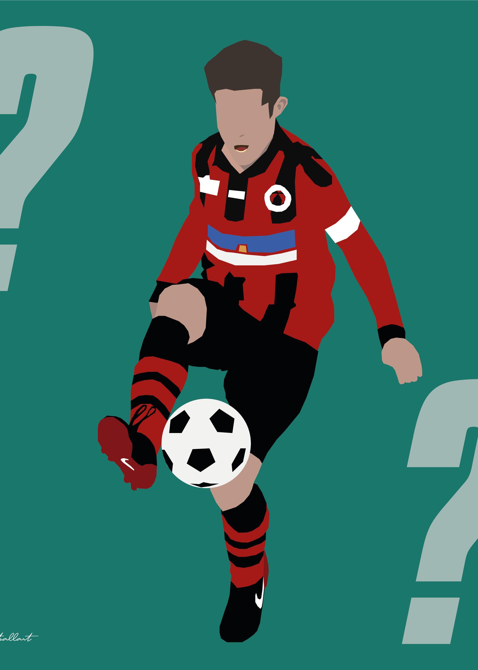 """We Love Football Art """"Wir zeichnen Ihr Sportporträt"""""""