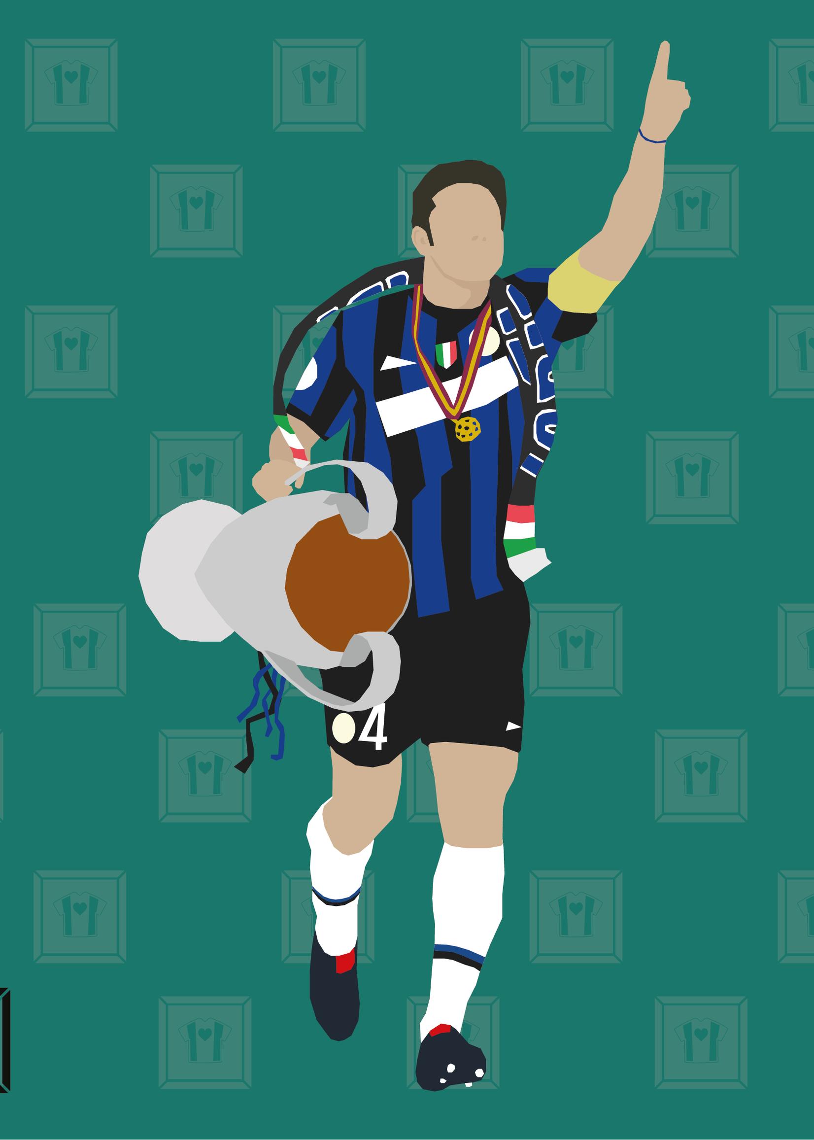 "We Love Football Art ""II Capitano Guillermo"" We Love Football Art"