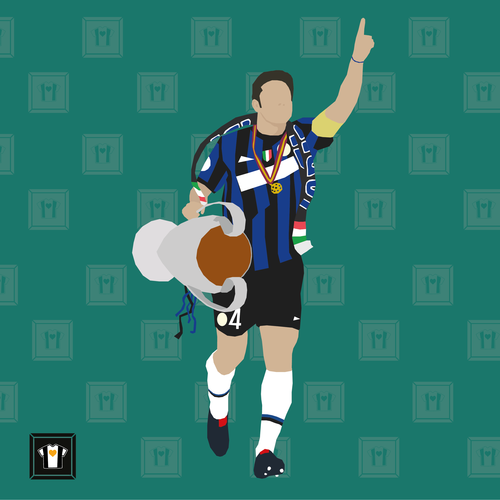 "We Love Football Art ""II CAPITANO GUILLERMO"""