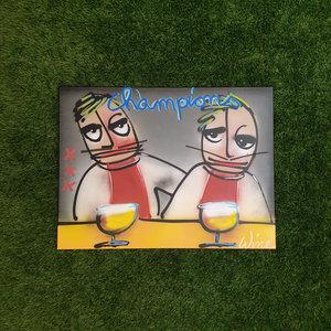 """Wine Art Ajax Amsterdam """"Champions"""""""