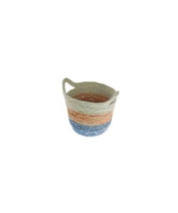 Corn basket white / orange / blue