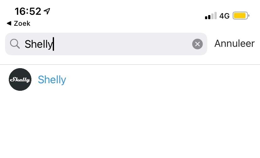 Zoek op merk 'Shelly'