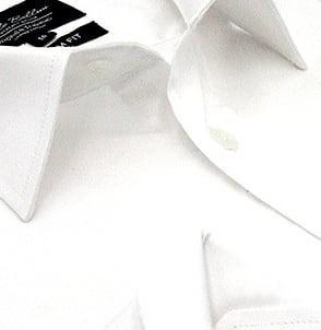 Heren Overhemd - Luxury Plain Satin - Wit-2