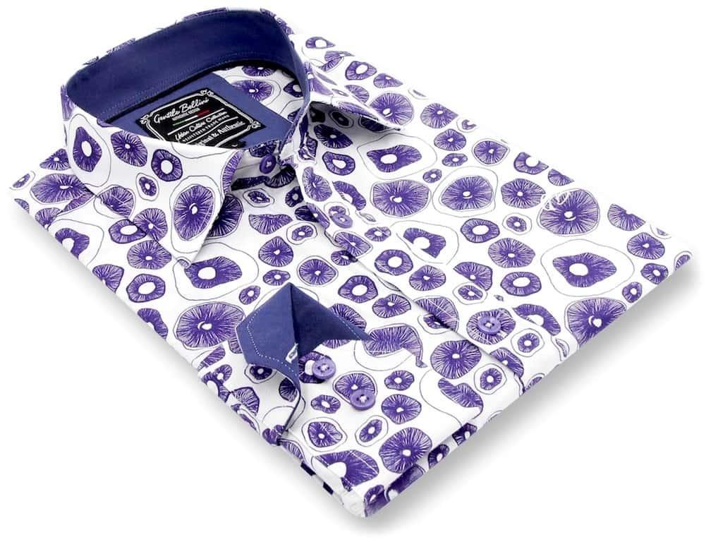 Heren Overhemd - Jellyfish Ocean - Wit-3