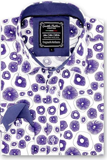 Heren Overhemd - Jellyfish Ocean - Wit