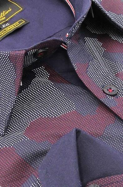 Heren Overhemd - Art Of Camouflage - Paars-2