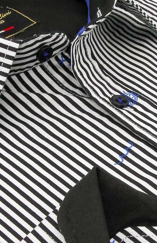 Heren Overhemd - Striped Sailor - Wit-2