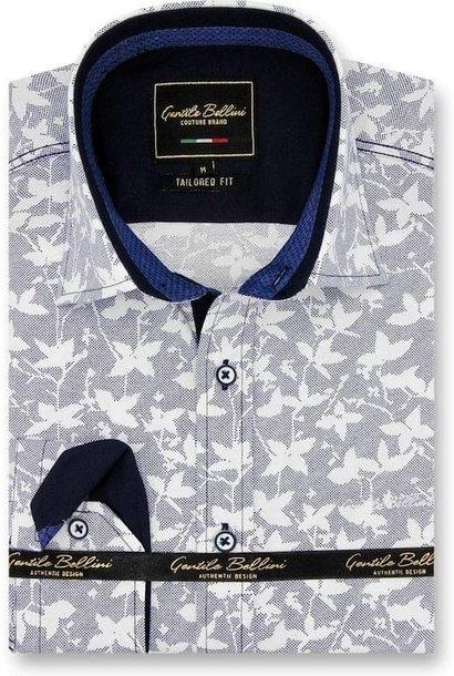 Heren Overhemd - Flying Leaf - Grijs