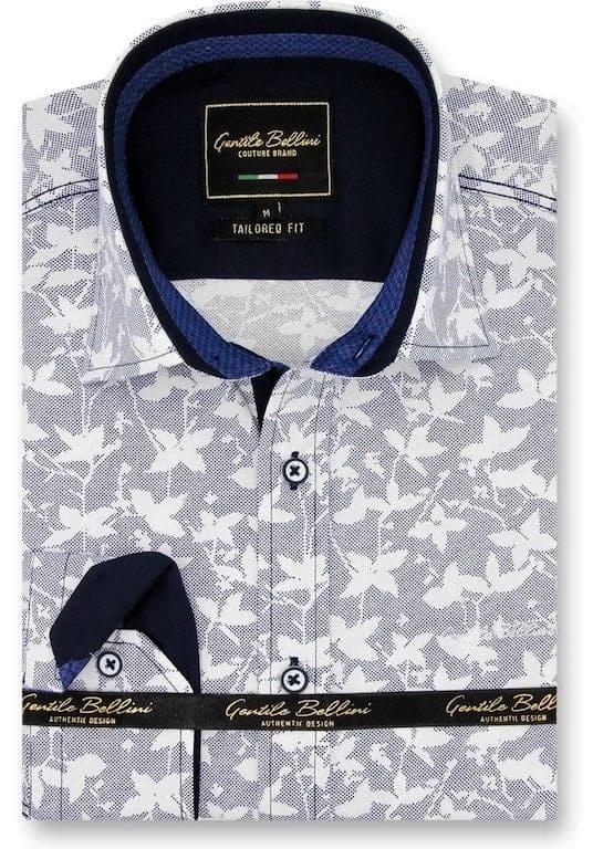 Heren Overhemd - Flying Leaf - Grijs-1