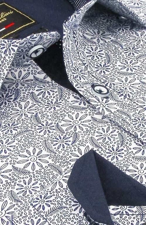 Heren Overhemd - Laurel Wreath - Wit-2
