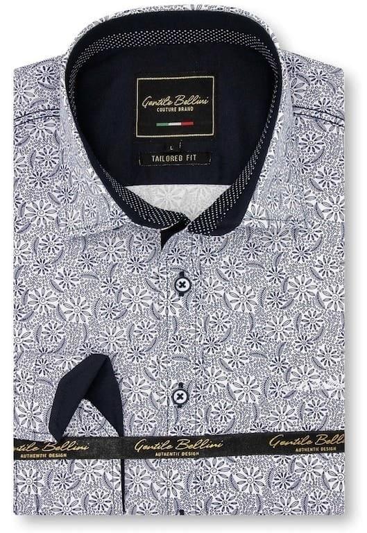 Heren Overhemd - Laurel Wreath - Wit-1