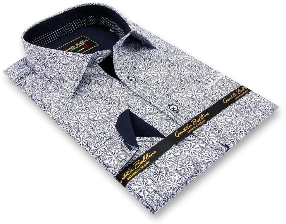 Heren Overhemd - Laurel Wreath - Wit-3
