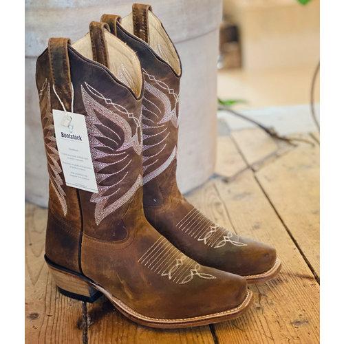 Papillon cowboy boot