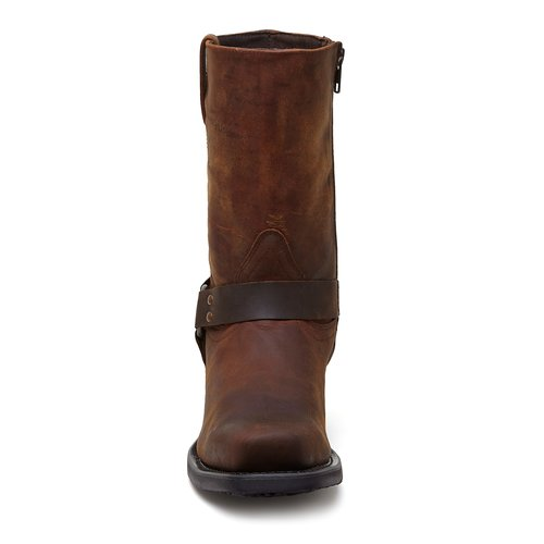 Harness Brown Motor Boots