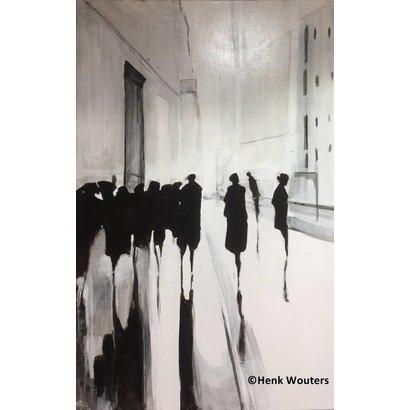 Zwart wit stadsgezicht - Henk Wouters