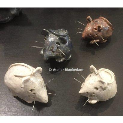 Muisjes van Keramiek- Atelier Blankedam