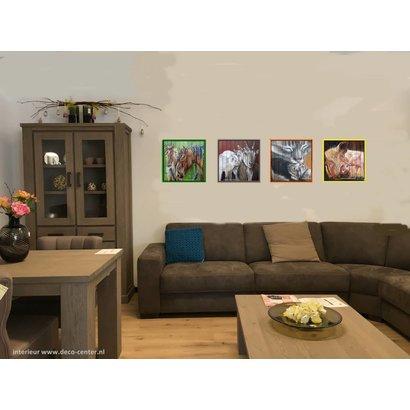 Schilderijen van boerderijdieren - Femmy Krol