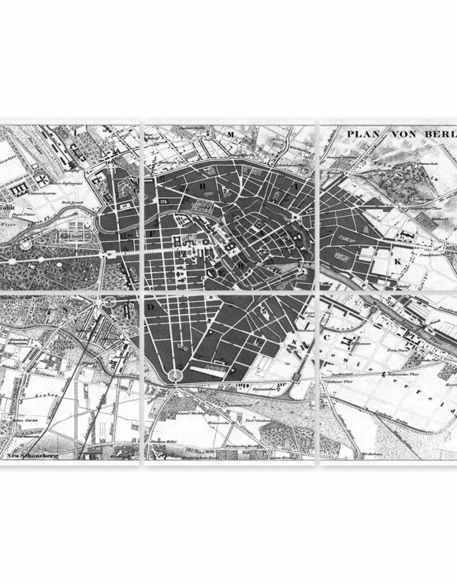 Boubouki Muur/tegelsticker Berlijn